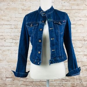 Tommy Hilfiger denim jean jacket M